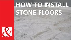 Start to Finish: How to Install Stone Floors