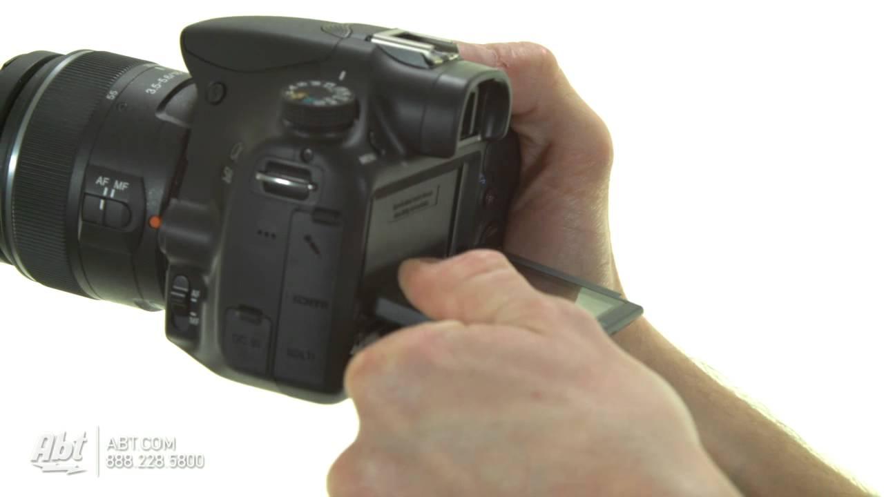 Sony SLT-A58 video test - sample video / Przykładowe nagranie z .