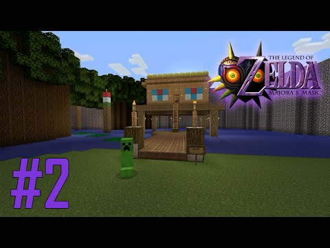 Majoras Mask Legend of Zelda Minecraft Adventure Map - Ep 2 w/Download
