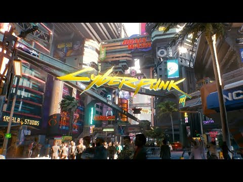 Official Night City Open World Exploration Gameplay Demo | Cyberpunk 2077