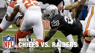 Latavius Murray's Goal Line TD Dive! | Chiefs vs. Raiders | NFL