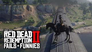 Red Dead Redemption 2 - Fails & Funnies #14 (Will It Survive?!)