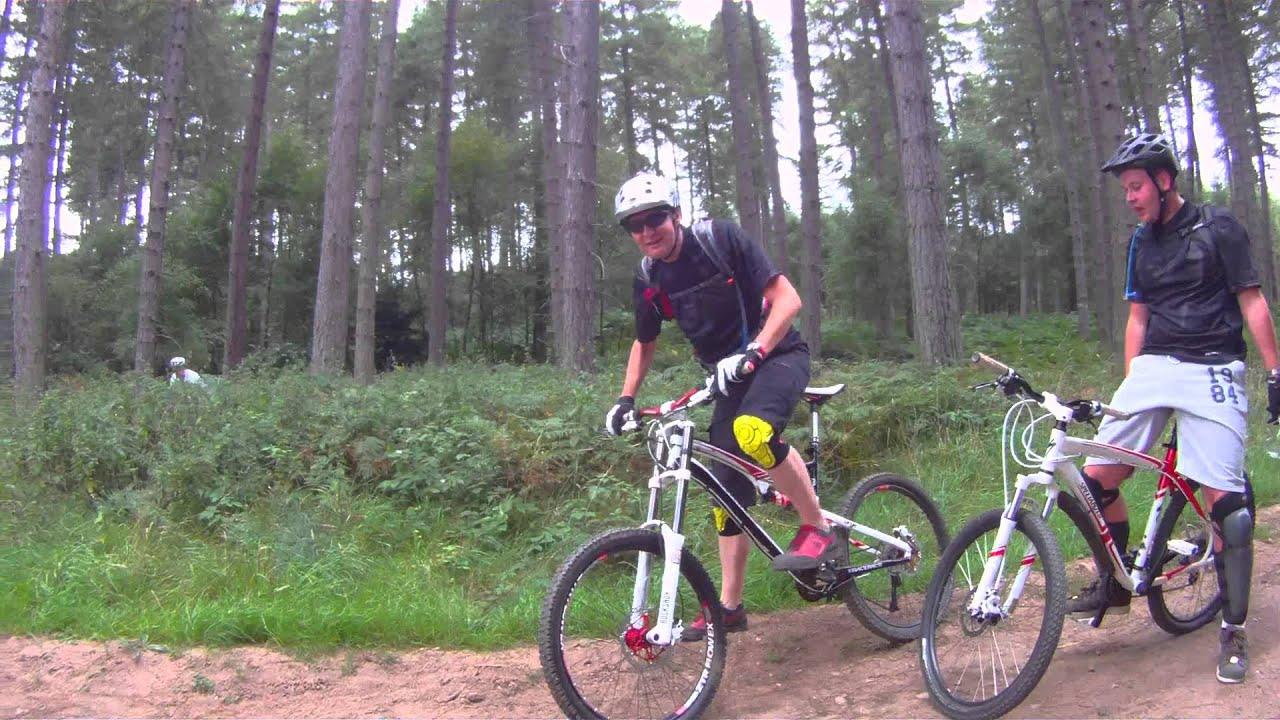 Sherwood Pines 31 08 13 Red Route Mountain Biking Kitchener