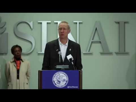 Gov. Rauner announces plan to transform Medicaid services in Illinois.