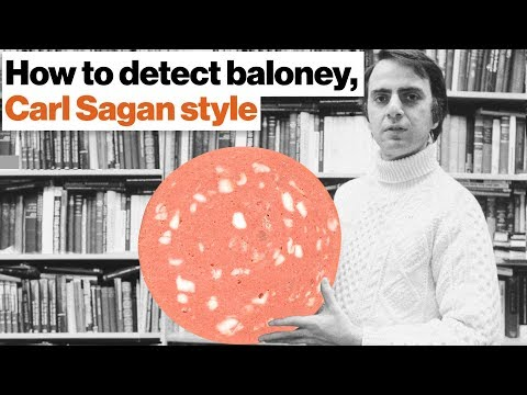 How to detect baloney the Carl Sagan way | Michael Shermer