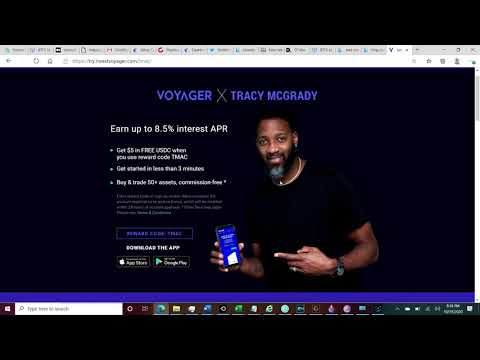 FREE $5 USDC : TMAC and Voyager Promo