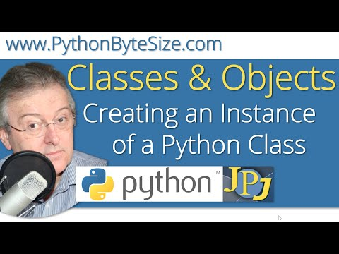 Creating an Instance of a Python Class