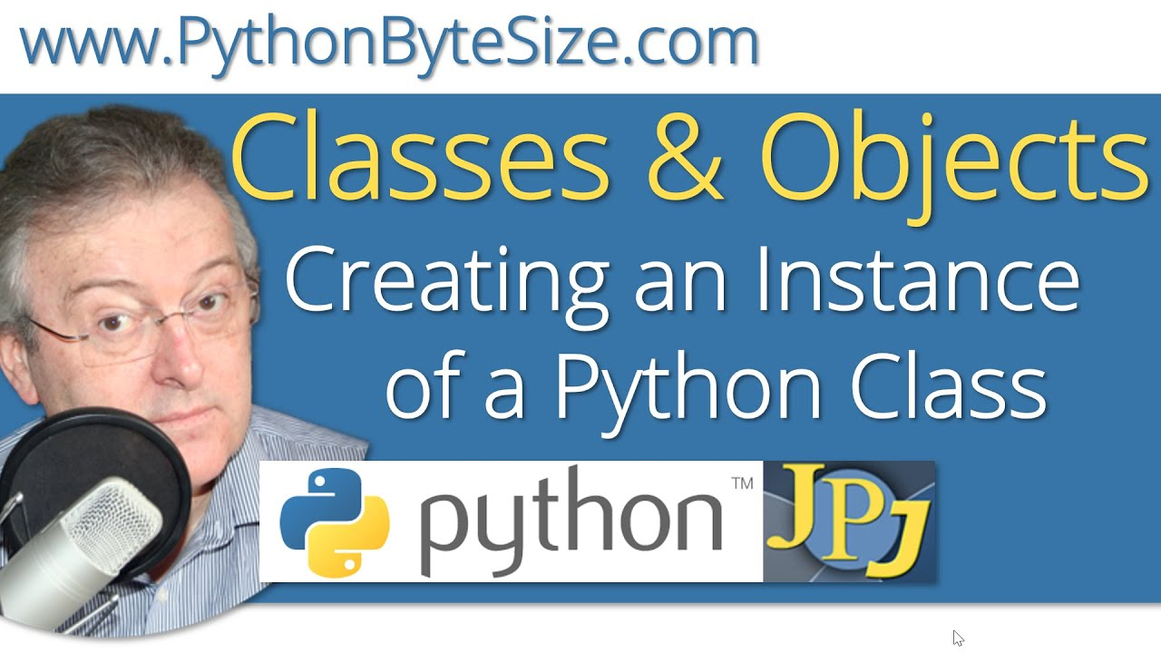 how to create a class instance in python
