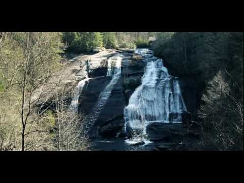 Dupont State Forest NC Hooker Falls Triple Falls High Falls Hiking Asheville North Carolina