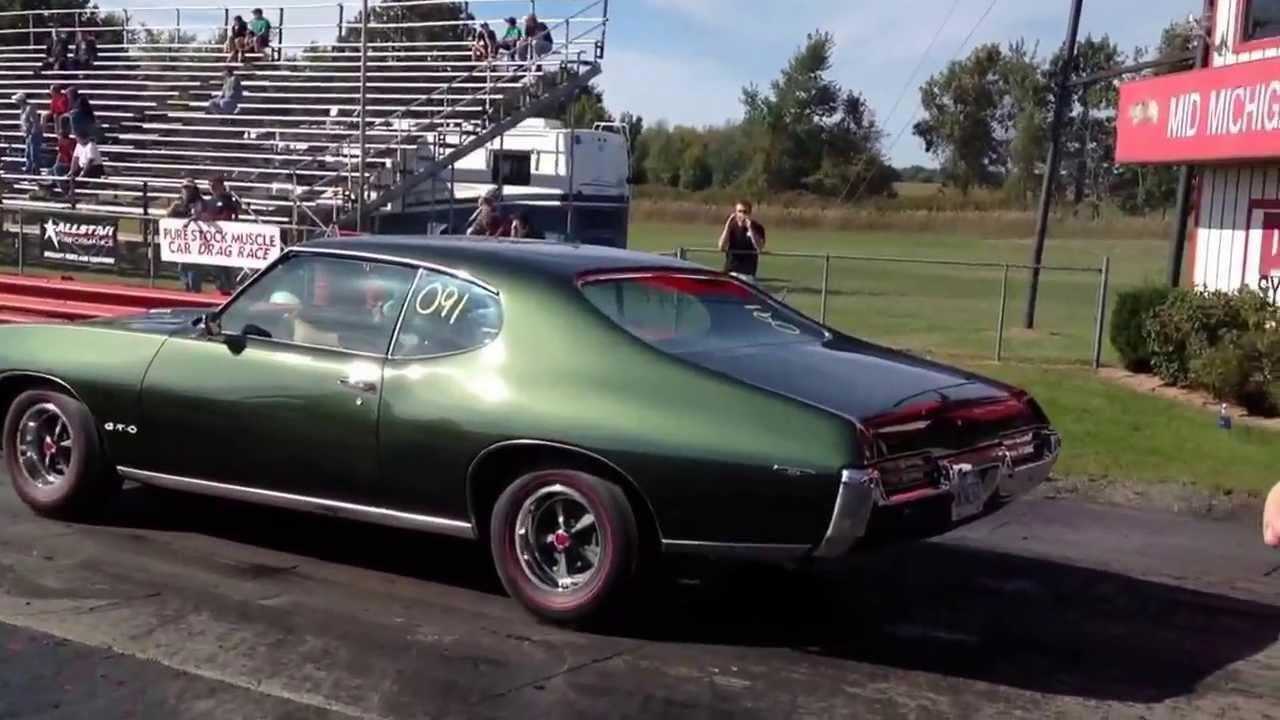 Pure Stock Muscle Car Drag Racing