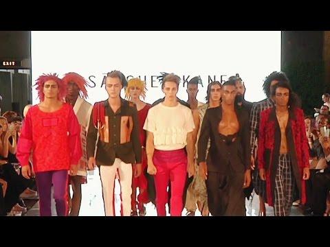 ¡Talento latino en la pasarela! En LA Fashion Week todos se lucieron