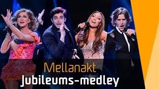 Medley i finalen av Melodifestivalen 2016