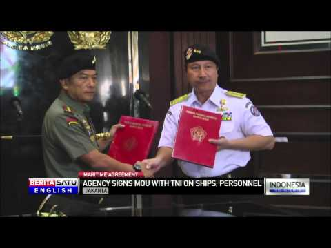 Maritime Security Signs MOU With TNI on Safety, Security and Resources