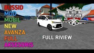 Mod Bussid Toyota Avanza Veloz Bus Simulator Indonesia Youtube