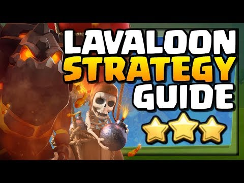 How To LAVALOON At TH11   Town Hall 11 Attack Strategy Guide   Clash Of Clans