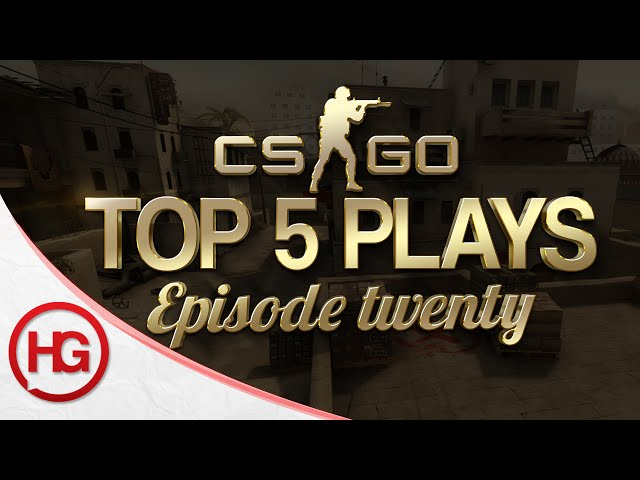 CS:GO Top 5 Plays Episode 20
