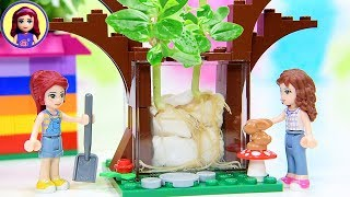 Grow Bean Sprouts in Lego Planters - Easy DIY Fun Planting Project Kids Toys