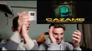 Maria Becerra, Tiago PZK - CAZAME (Official Video)(Reaccion)