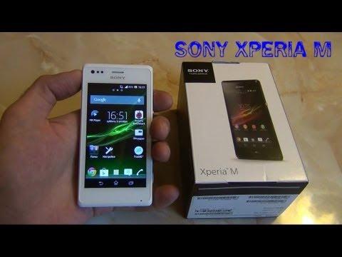 Sony Xperia M Dual обзор ◅ Quke.ru ▻ - YouTube