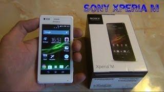 Sony Xperia M. Чёткий обзор / от Арстайл /