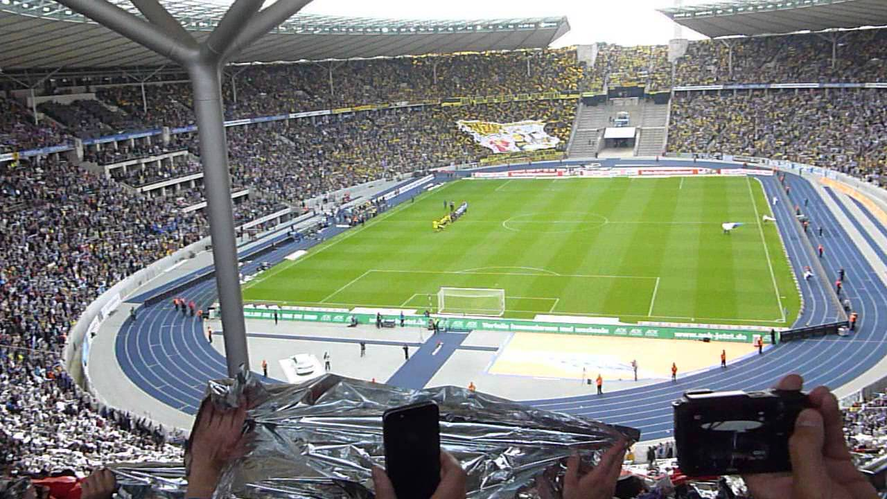 hertha berlin borussia dortmund olympia stadion part 2 youtube. Black Bedroom Furniture Sets. Home Design Ideas