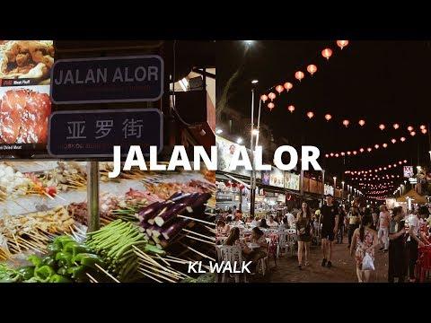 KL Walk: Jalan Alor Food Night Market @ Bukit Bintang, Kuala Lumpur, Malaysia