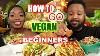 HOW TO GO VEGAN ( PLANT BASED ) 2020 | EATING SHOW