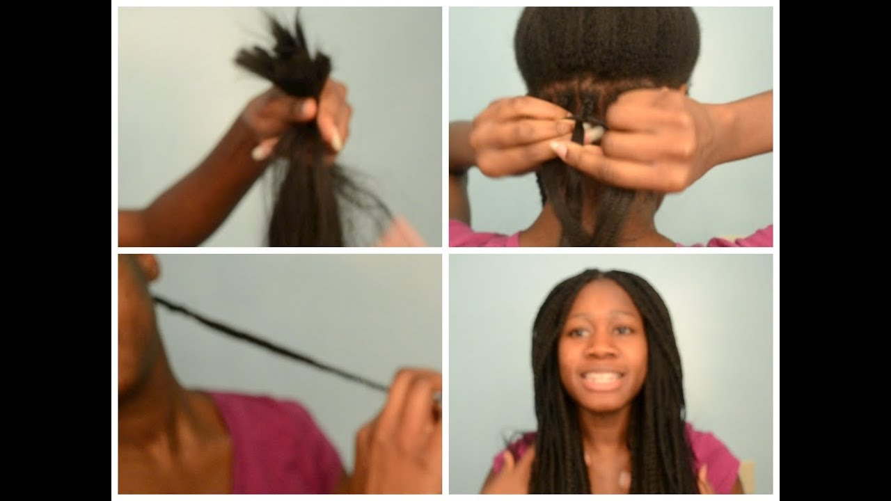 How To Pick Your Extensions And Braid Your Own Hair Box Braids