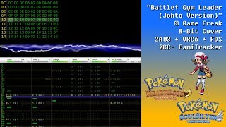 Pokémon HeartGold & SoulSilver: Battle! Gym Leader Johto (8-bit 2A03 + VRC6 + FDS Cover)