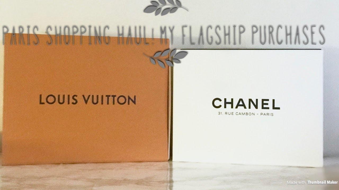 1b83e1da3e21 Paris Flagship Haul including Chanel Coco Handle Review + More - YouTube
