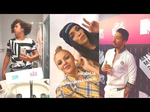 WHINDERSSON, LUISA, RAFA UCCMAN E CARLINHOS NO MTV MIAW