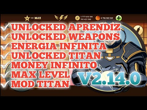 Shadow fight 2 v2.14.0 - The Most Powerfull - MOD UNLOCKED TITAN,UNLOCKED WEAPONS,MAX LEVEL - 2021   Tổng hợp thủ thuật internet 1