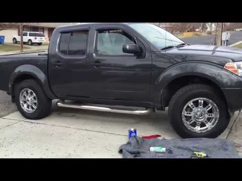 2012 Nissan Frontier | ReadyLift | 265/70-18 | XD Riot Chrome 6x114.3