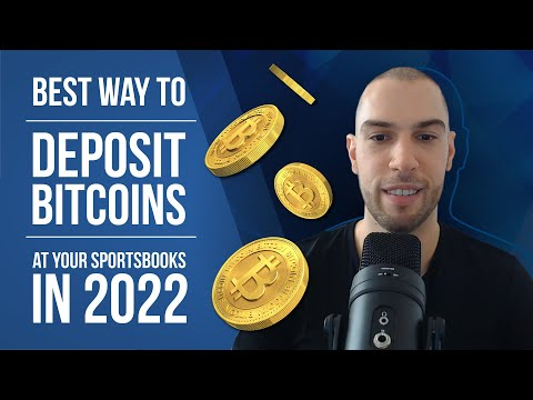 Deposit Bitcoin At Your Sportsbooks / FASTEST And Most SECURE Way 2020.