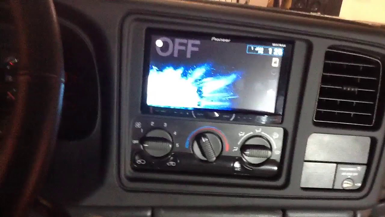2006 chevy silverado 1500 radio wiring diagram gm cs alternator 1999-2002 double din installation pioneer bluetooth touchscreen - youtube