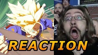 MAX/DOODS REACT: Trunks Reveal - DragonBall FighterZ thumbnail