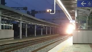 2021.05.08 코레일 한림정역 화물열차 견인 전기…