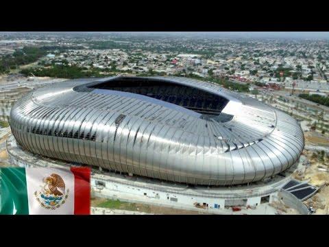 Modern Architecture Marvel: BBVA Bancomer Stadium in Monterrey, Mexico