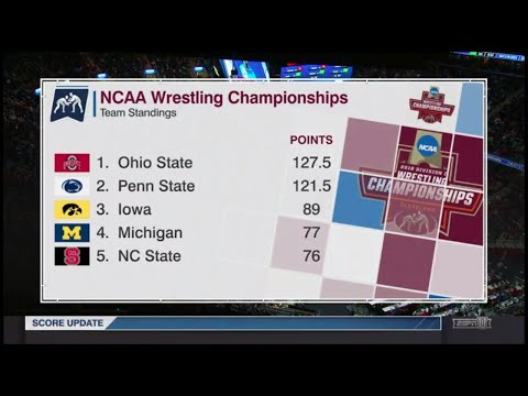 (3rd & 5th Place Matches) 2018 NCAA Wrestling Championship (149 Lbs.) March 17, 2018