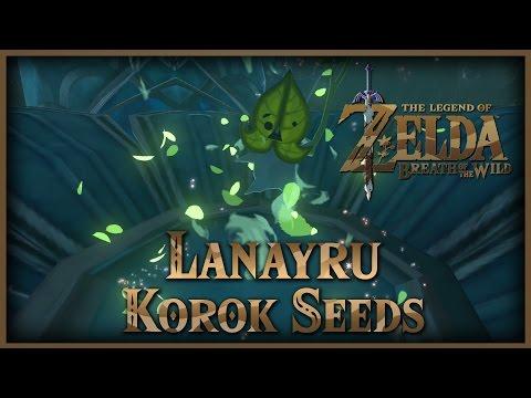 Zelda Breath of the Wild • Korok Seeds • Lanayru