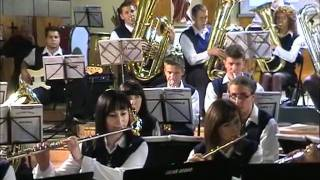 Music from Carmina Burana - Concert Band - Bocook.wmv