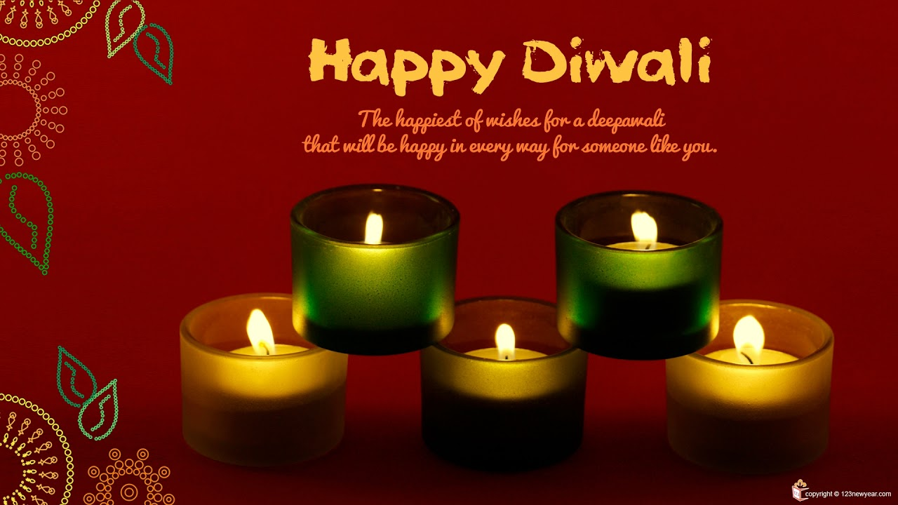 Wish You A Very Happy Diwali Greeting 2017 Youtube
