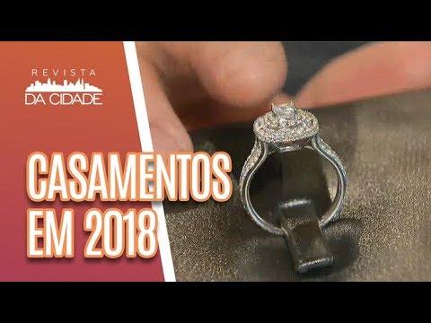 Novidades Para Casamento: Buquês, Vestidos, Bolos E Mais - Revista Da Cidade (25/05/18)