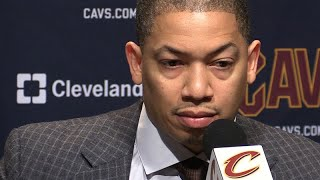 Tyronn Lue on why Cavs lost to Wizards
