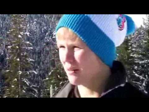 Alex Gough, Vancouver 2010 Olympics Canadian luge sports athlete interview at Whistler
