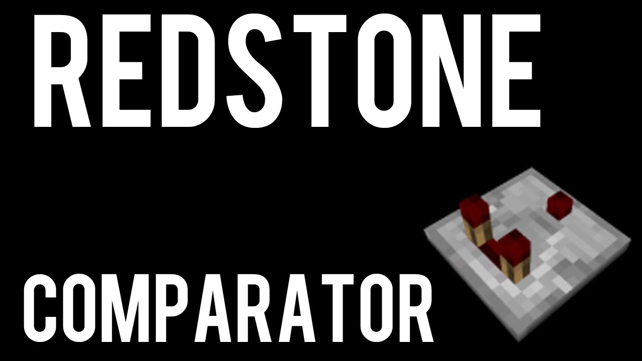 How To Make And Use A Redstone Comparator In Minecraft Youtube Clock Circuit