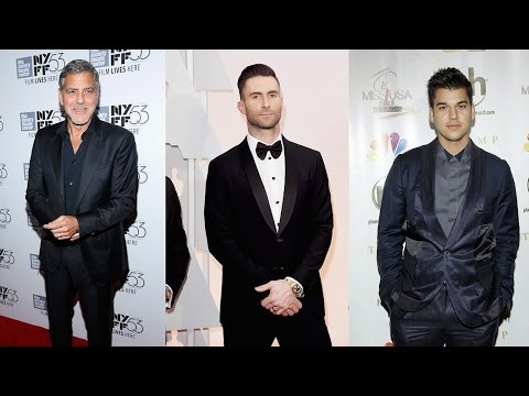 7 Famous Dads Celebrating Their First Father's Day: George Clooney Adam Levine & Rob Kardashian