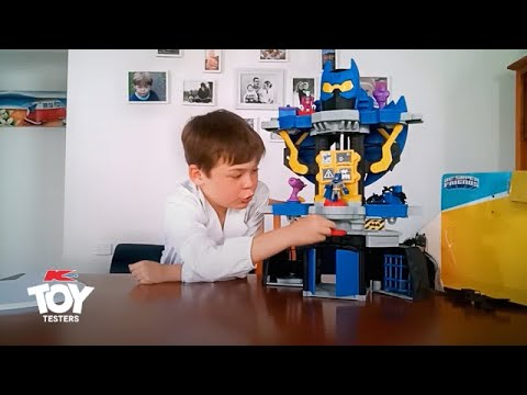 Toy Tester Review: Fisher-Price Imaginext DC Super Friends Transforming Batcave
