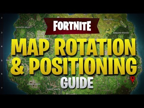 HOW TO WIN | Map Rotation & Positioning Guide +  NEW BOUNCE PAD TRAP (Fortnite Battle Royale)