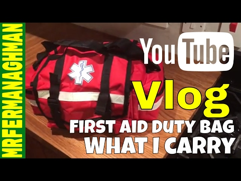 First Aid Duty Bag. What I carry.
